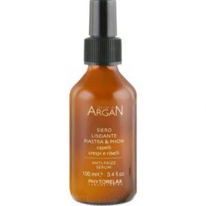 Сыворотка для волос Phytorelax С разглаживающим эффектом аргановая