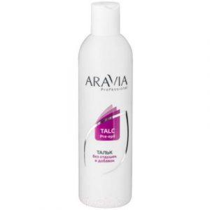 Тальк для депиляции Aravia Professional без отдушек и химических добавок