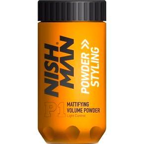 Текстурирующая пудра для волос NishMan Powder Hair Styling матовая