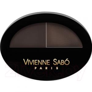 Тени для бровей Vivienne Sabo Brow Arcade тон 03