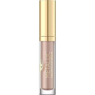 Тени для век Eveline Cosmetics Metallic Cream Eyeshadow №4