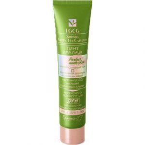 Тональный флюид Белита-М Perfect Nude Skin EGCG Korean Green Tea Catechin SPF15 универс.