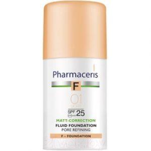 Тональный флюид Pharmaceris F матирующий SPF25 тон 01