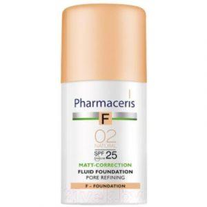 Тональный флюид Pharmaceris F матирующий SPF25 тон 02