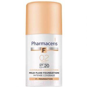 Тональный флюид Pharmaceris F нежный SPF20 02 песочный