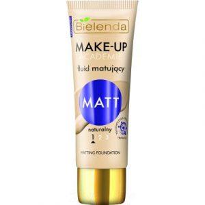 Тональный крем Bielenda Make-Up Academie Matt №01 светлый