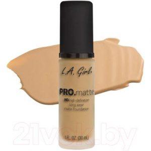 Тональный крем L.A.Girl PRO.matte Liquid Foundation Beige GLM673