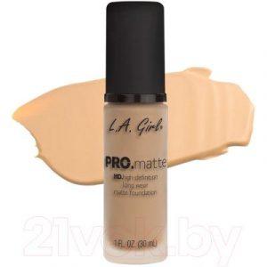 Тональный крем L.A.Girl PRO.matte Liquid Foundation Bisque GLM672