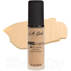 Тональный крем L.A.Girl PRO.matte Liquid Foundation Ivory GLM671