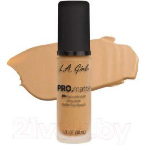 Тональный крем L.A.Girl PRO.matte Liquid Foundation Natural GLM674
