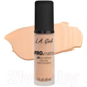 Тональный крем L.A.Girl PRO.matte Liquid Foundation Porcelain GLM715