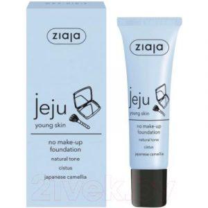 Тональный крем Ziaja Jeju Young Skin No Make-Up Foundation тон натуральный