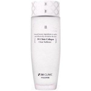 Тонер для лица 3W Clinic Collagen Clear Softener