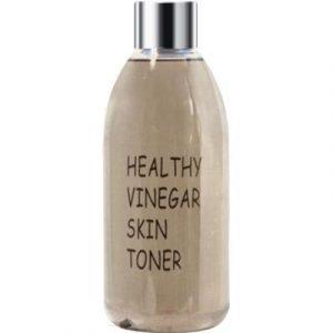 Тонер для лица Real Skin Healthy Vinegar Skin Toner Black Bean