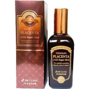 Тоник для лица 3W Clinic Premium Placenta Age Repair Skin