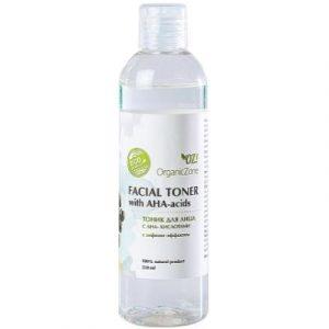 Тоник для лица Organic Zone С АНА-кислотами с лифтинг-эффектом