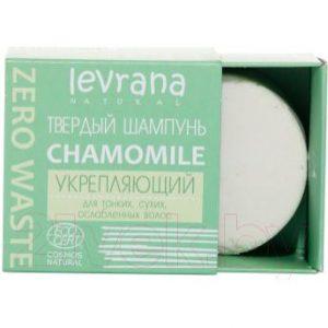 Твердый шампунь для волос Levrana Сhamomile Урепляющий