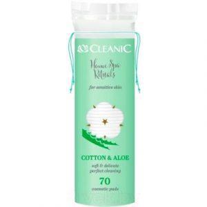 Ватные диски Cleanic Home SPA Rituals с экстрактом алоэ для чувств кожи