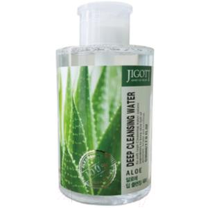 Вода для лица Jigott Глубоко очищающая с экстрактом алоэ