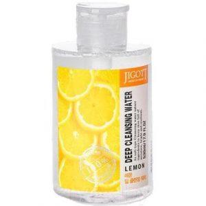 Вода для лица Jigott Глубоко очищающая с экстрактом лимона