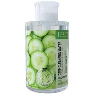 Вода для лица Jigott Глубоко очищающая с экстрактом огурца