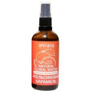 Вода для лица Levrana Натуральная флоральная апельсиновая карамель