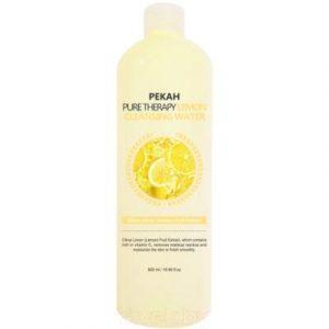 Вода для лица Pekah Очищающая с экстрактом Лимона