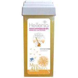 Воск для депиляции Hellenia Мед и молоко