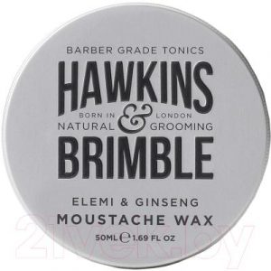 Воск для укладки бороды Hawkins & Brimble Elemi & Ginseng Moustache Wax для усов