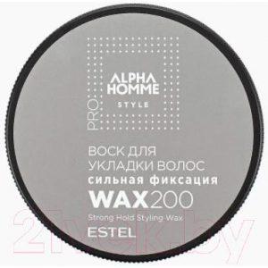 Воск для укладки волос Estel Alpha Homme сильная фиксация