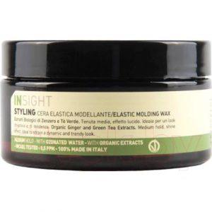 Воск для укладки волос Insight Elastic Molding Wax с экстрактом имбиря