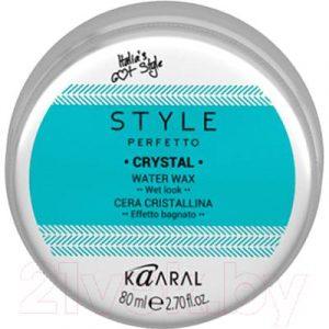 Воск для укладки волос Kaaral Style Perfetto Crystal на водной основе