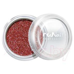 Втирка для ногтей RuNail Зеркальная пыль с шиммером №4295