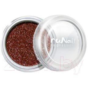 Втирка для ногтей RuNail Зеркальная пыль с шиммером №4297