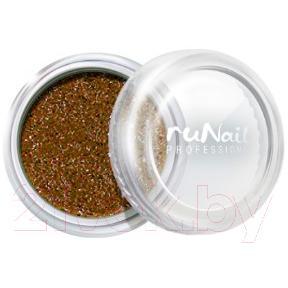 Втирка для ногтей RuNail Зеркальная пыль с шиммером №4298