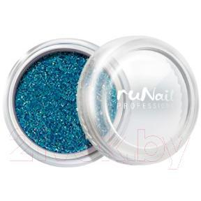 Втирка для ногтей RuNail Зеркальная пыль с шиммером №4300